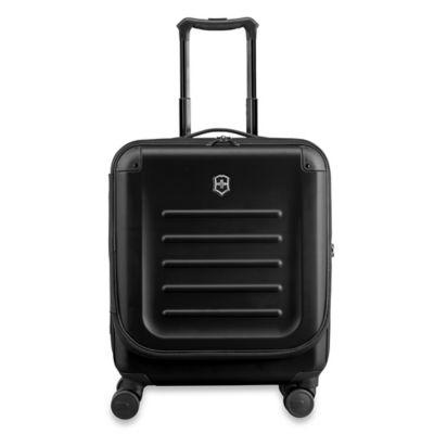 Spectra 8-Wheel Travel Case with Quick-Access Door in Black