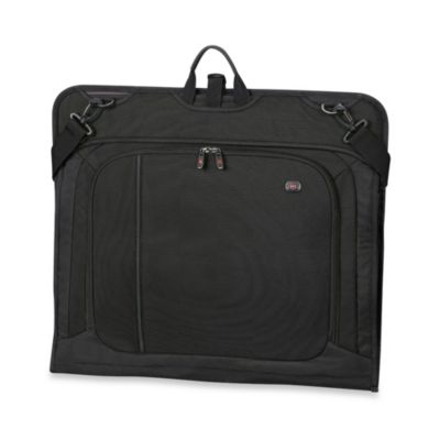 Werks Traveler 23-Inch Deluxe Garment Bag in Black