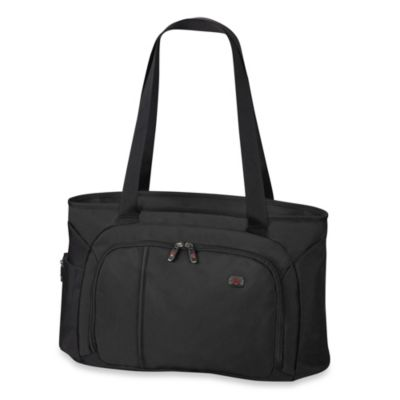 Victorinox® Werks Traveler 18-Inch Zippered Shoulder Bag in Black