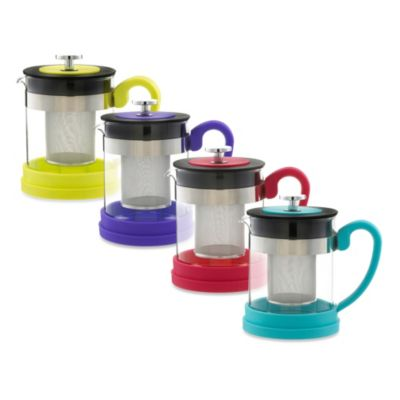 Green Infuser Teapots