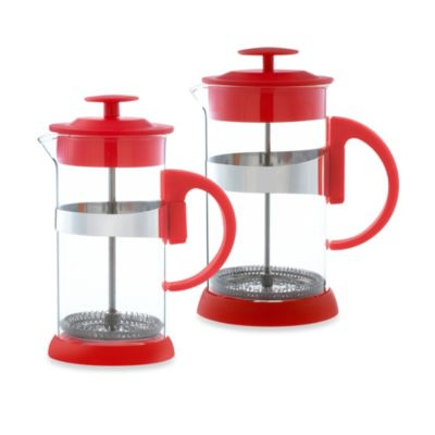 Grosche Zurich 3-Cup French Press in Red