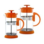 Grosche Zurich French Press in Orange