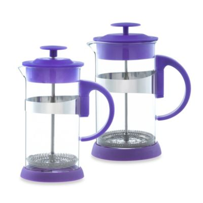 Grosche Zurich 3-Cup French Press in Purple