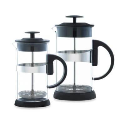 Grosche Zurich French Presses in Black