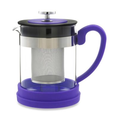 Grosche Valencia 2-Cup Infuser Teapot in Purple