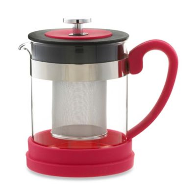 Grosche Valencia 2-Cup Infuser Teapot in Pink