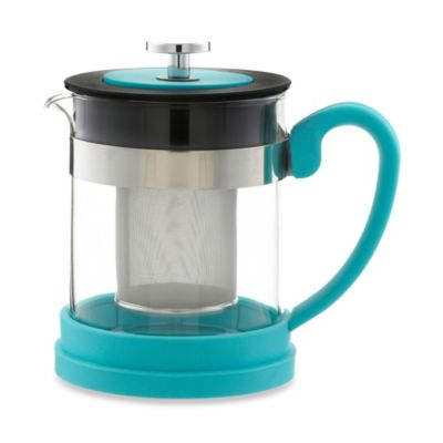 Grosche Valencia 2-Cup Infuser Teapot in Blue