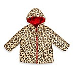 Girl's Leopard Faux Fur Reversible Jacket