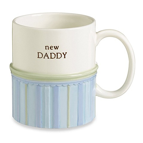 New Daddy 12-Ounce Stoneware Mug