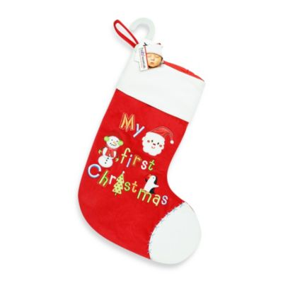 AD Sutton My First Christmas Boy's Stocking
