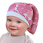 Tortle Cotton Beanie in Pink Flower
