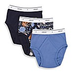 Gerber® Jockey Toddler Briefs in Navy Sports (3-Pack)