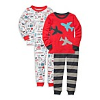 Carter's® 2T Transportation Print Snug Fit 4-Piece PJ Set