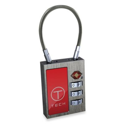 T-Tech by Tumi 3-Dial Combination Cable Lock