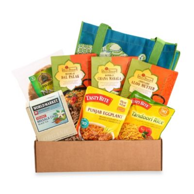 Cost Plus World Market Flavors of India Gourmet Dorm Room College Care Package