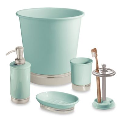 InterDesign® York Tumbler in Seafoam