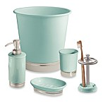 InterDesign® York Waste Basket in Seafoam