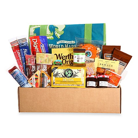 Cost Plus World Market Feel Better College Care Package