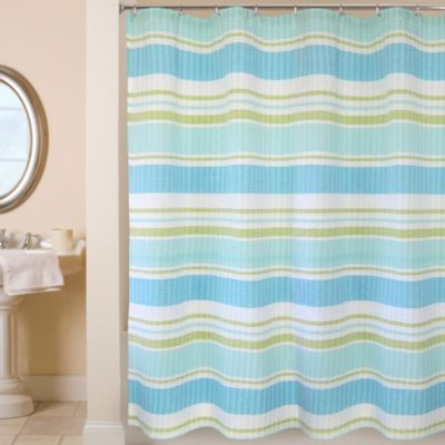 Park B. Smith® Cabana Stripe 72-Inch x 72-Inch Shower Curtain