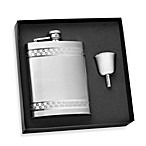 Stainless Steel 8-Ounce Flask in Gift Box with Funnel