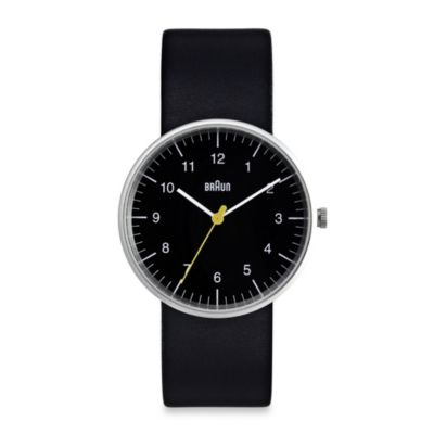 Braun® Men's Watch in Black