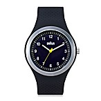 Braun® Unisex Sports Watch in Black