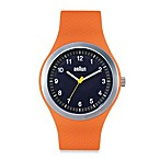 Braun® Unisex Sports Watch in Orange