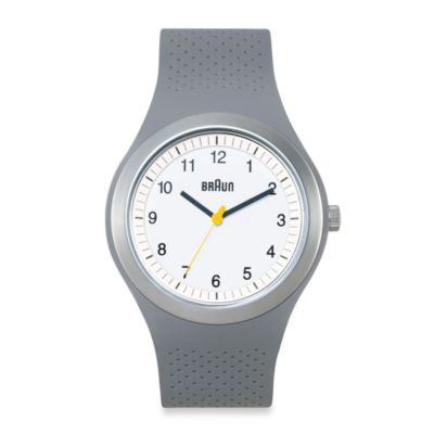 Braun® Unisex Sports Watch in Grey
