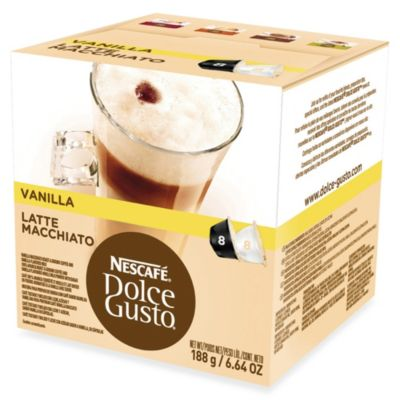 Nescafe® 16-Count Dolce Gusto® Vanilla Latte Macchiato Capsules