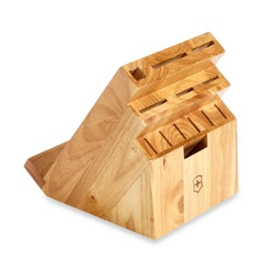 Victorinox® 13-Slot Swivel Knife Block with Tablet Holder in Natural