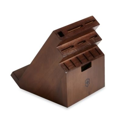 Victorinox® 13-Slot Swivel Knife Block with Tablet Holder in Espresso