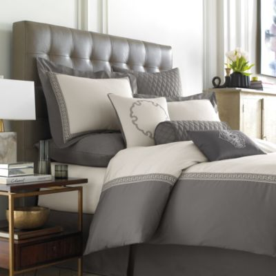 Wamsutta® Greek Key 4-Piece Full Comforter Set