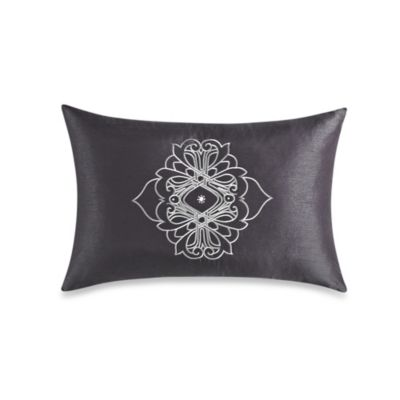 "Home Key"" Oblong Throw Pillow Throw Pillows"