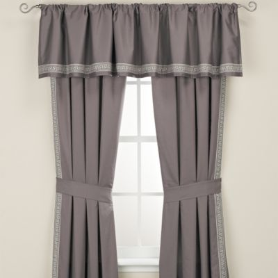 Wamsutta® Greek Key Window Valance