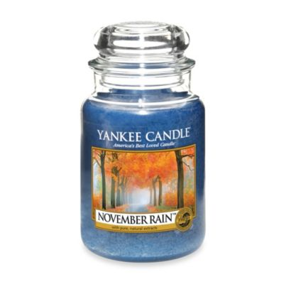 Yankee Candle® November Rain™ Large Classic Candle Jar