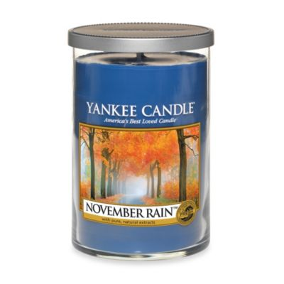 Yankee Candle® November Rain™ Large 2-Wick Lidded Candle Tumbler