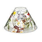 Yankee Candle® Snowman Crackle Jar Shade