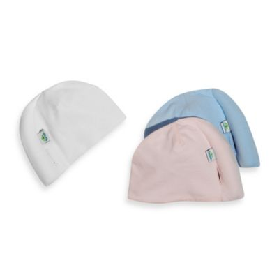 White Cotton Beanie