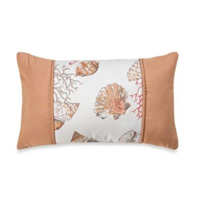 Seashore Oblong Throw Pillow