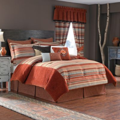Croscill® Flagstaff California King Reversible Comforter Set