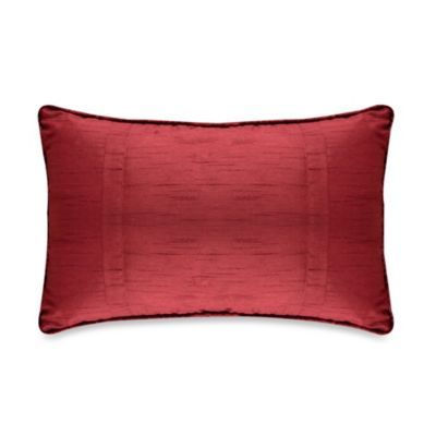 Diamonte Boudoir Toss Pillow in Merlot