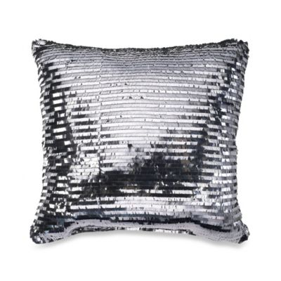 Diamonte Fashion Toss Pillow in Merlot