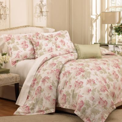 Raymond Waites Soire 5-Piece King Comforter Set in Petal