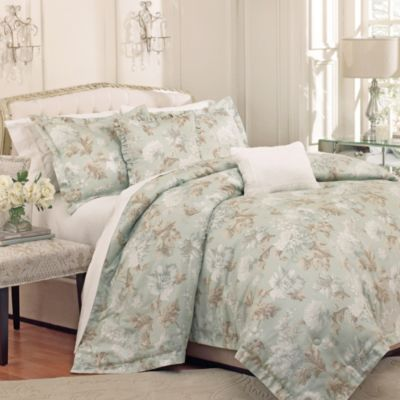 Raymond Waites Soire 5-Piece Comforter Set in Lake