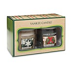 Yankee Candle® Christmas Wreath® and Sparkling Snow™ Tumbler Candle Gift Set