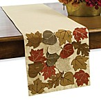 Autumn Whisper Table Runner in Taupe