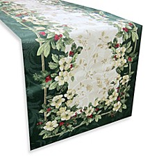 Joyous Holiday Table Runner Bed Bath Amp Beyond