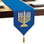 Menorah Table Runner