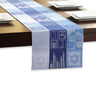 Hanukkah Holiday 72-Inch Table Runner