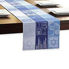 Sam Hedaya Hanukkah Holiday Table Runner